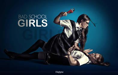 Bad School Girls by YasserCharisma