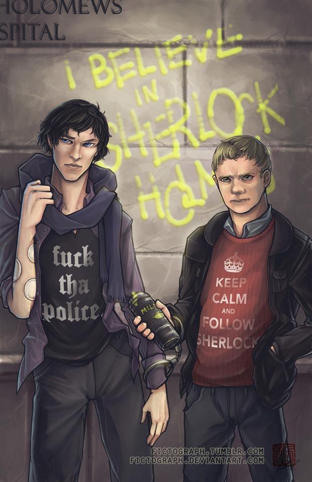 Fanart - Believe in Sherlock