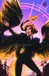 Fanart - The Girl on Fire