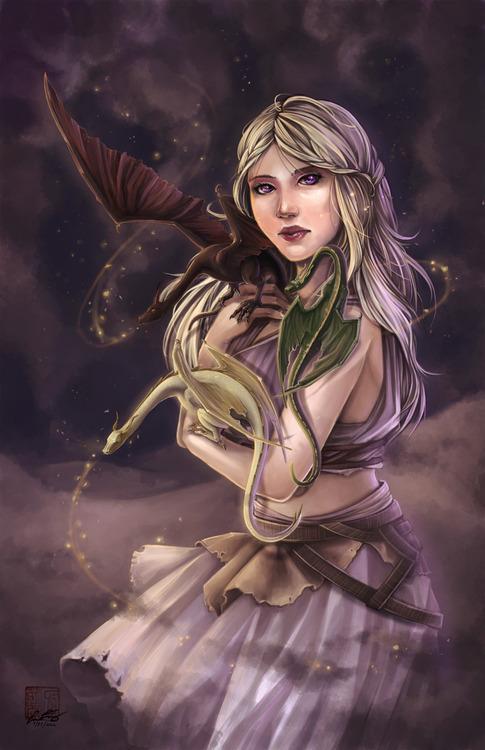 Fanart - Khaleesi