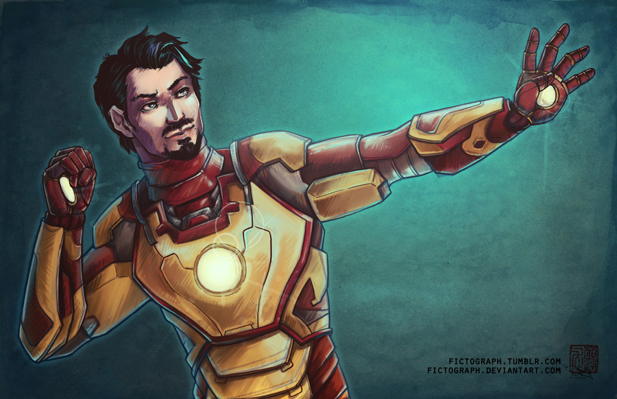 Fanart - Iron Man by fictograph