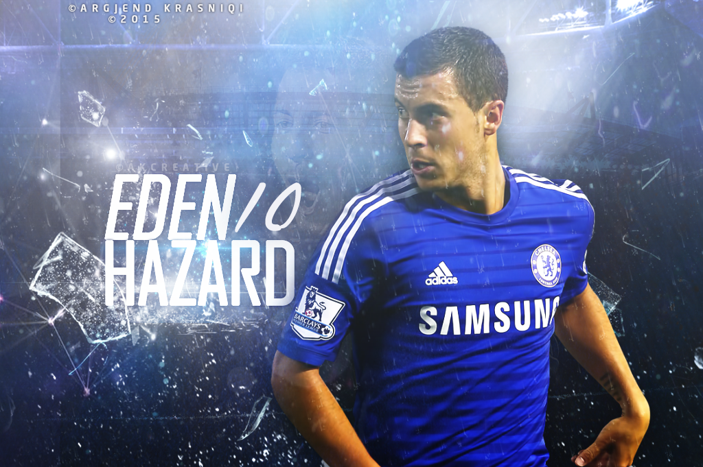 Eden Hazard Wallpaper Hd By Gjeni On Deviantart