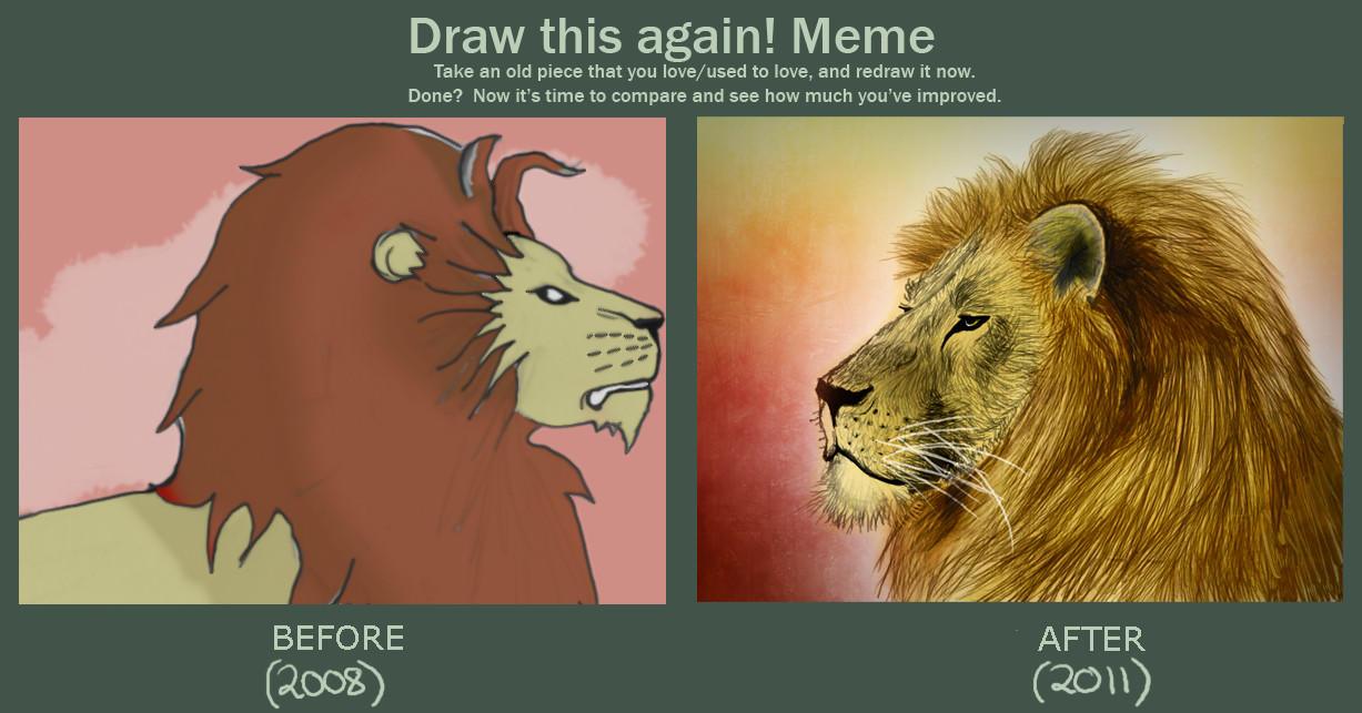 Meme: Before and After by Sophalone