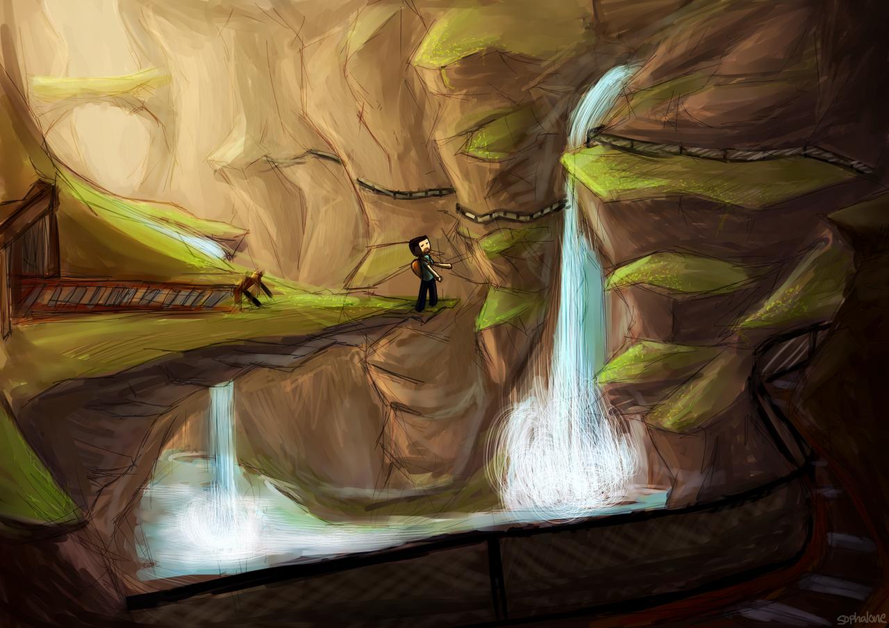 Mineshaft Ravine by Sophalone