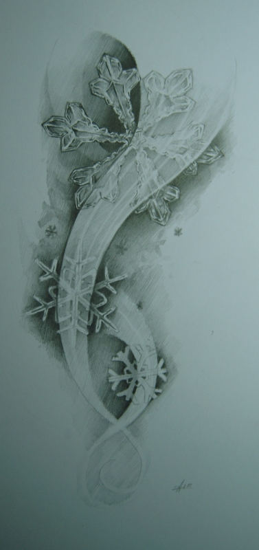 snowflakes by MOTH-Simeonov