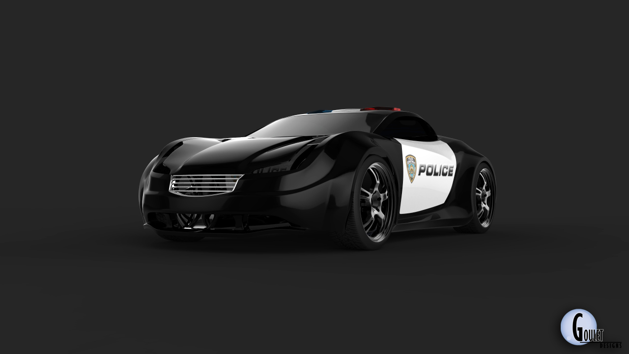 The Chase: Cop Concept 3