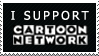 I support cartoonnetwork stamp by Cynical-Moi