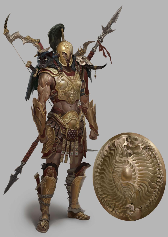 Greek Woman Warrior Amazon-warrior-detail3...