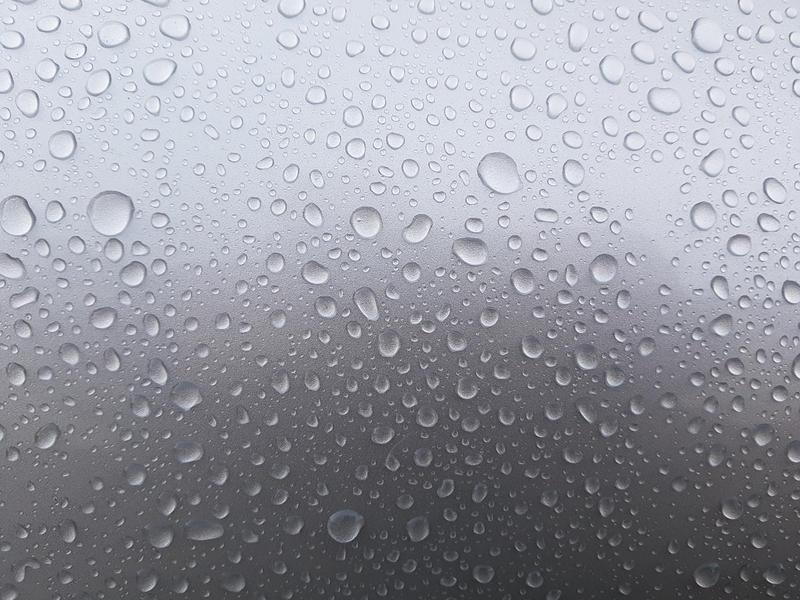 Rain Drops Silver by RobyOny
