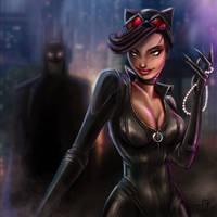 Catwoman  by MauroFanti