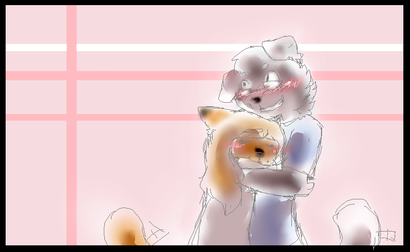 GA:. Puppy love by Alu12