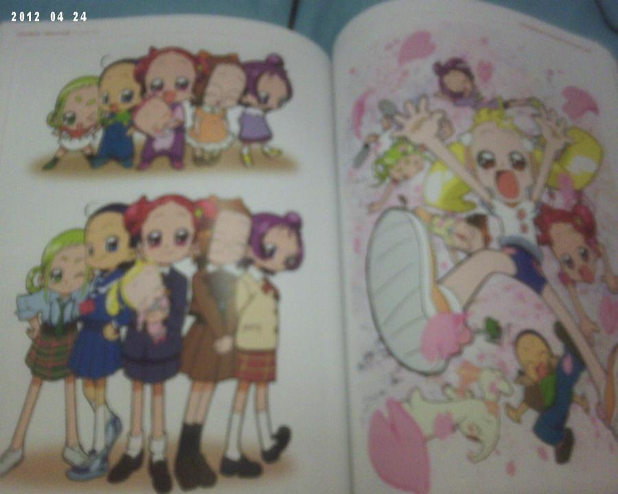 La Light Novel d'Ojamajo Doremi 16 ja és aquí - Página 3 Ojamajo_doremi_by_carol_das_estrelas-d4xkryb