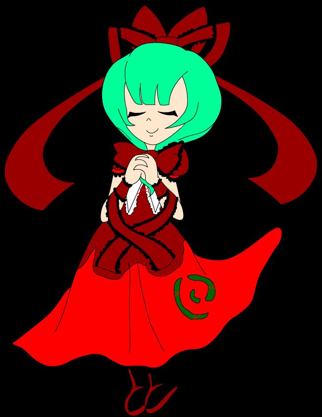 Top 20 Touhou characters - 1.: Hina Kagiyama by Carol-aredesu