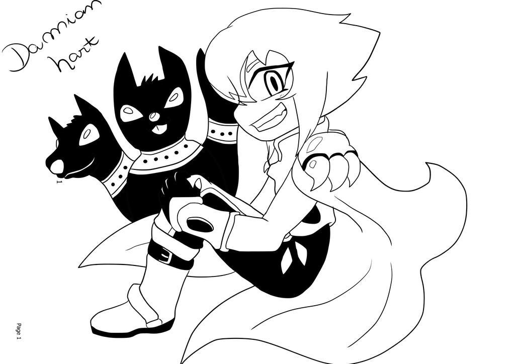 Inktober #2 - Damian Hart by Carol-aredesu