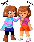 That is why I think Frisk is a girl