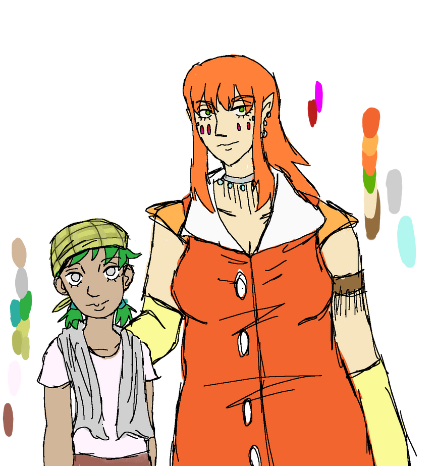 Reference April And Sonia By Lil Shinji On Deviantart