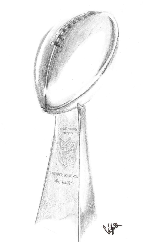 vince lombardi trophy replica