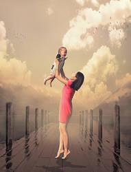 Digital Art Poster Mother