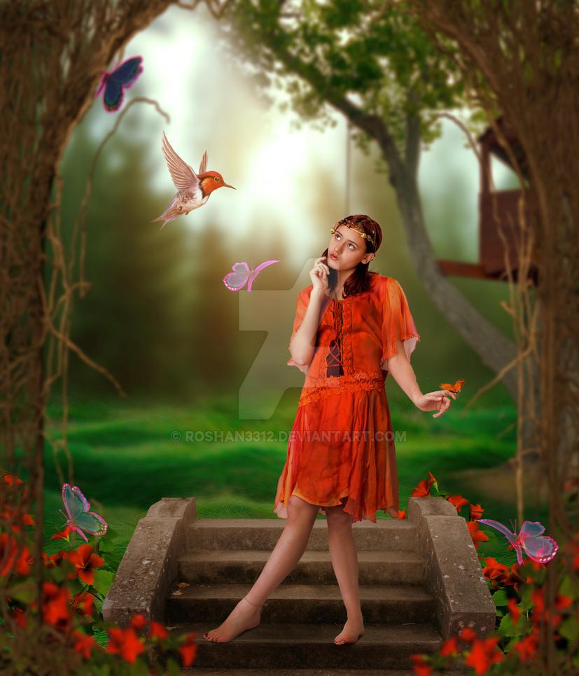 Fantasy Girl (Dreamy Effect) by Roshan3312
