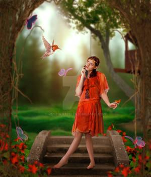 Fantasy Girl (Dreamy Effect)