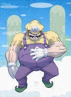 Wario by PotemkinBuster