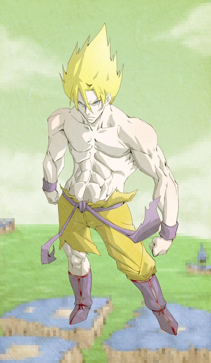 Goku by PotemkinBuster