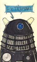 Dalek Sec by Cruxia