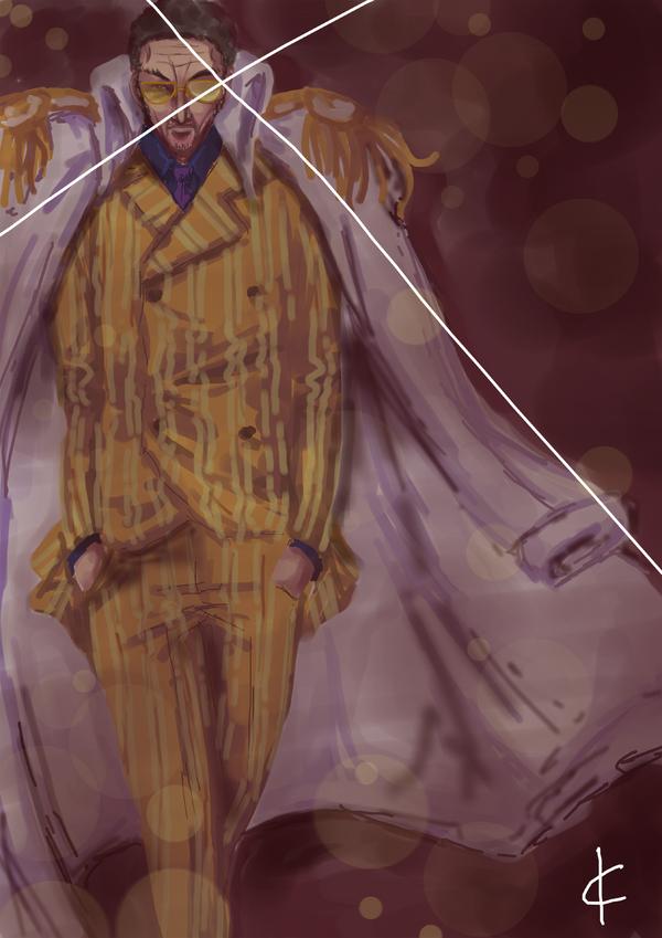 OP_FanArt_Kizaru_Sketch_by_Shin_ichi