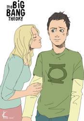 TBBT FanArt:Sheldon+Penny2 by Shin-ichi