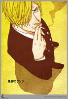 OP FanArt:Kuro Ashi Sanji2 by Shin-ichi