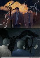 SPN FanArt: Thunder by Shin-ichi