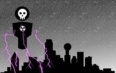 Dallas Doom from above by netgoo