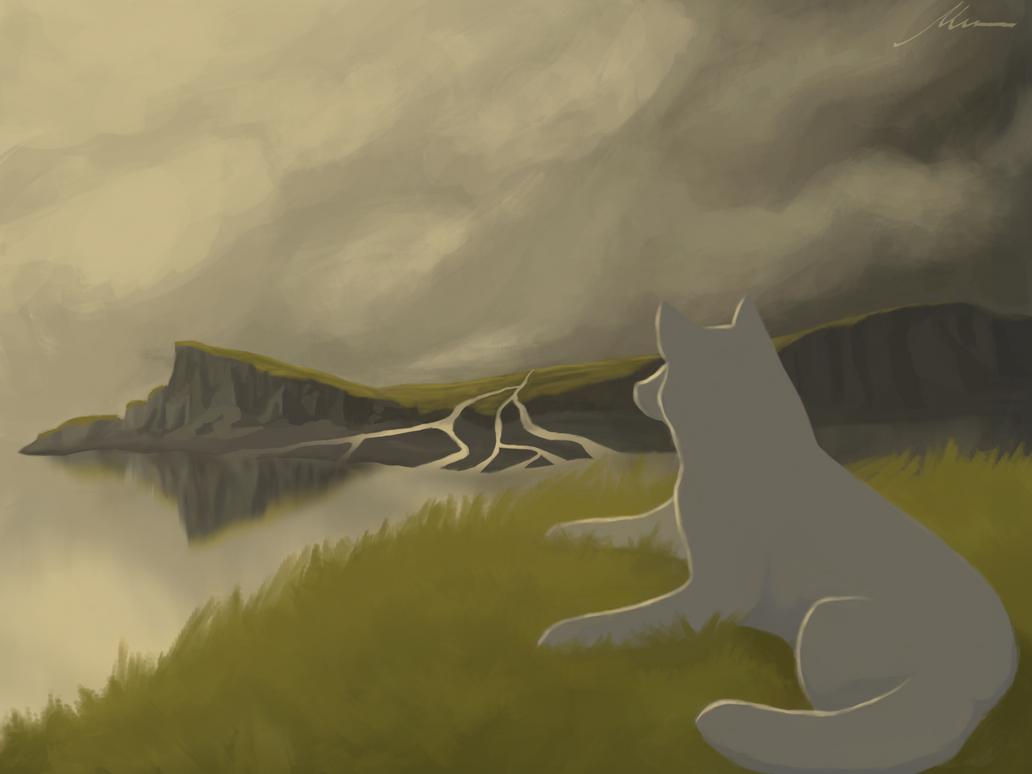 Wolf of the Highlands by SheepyArt