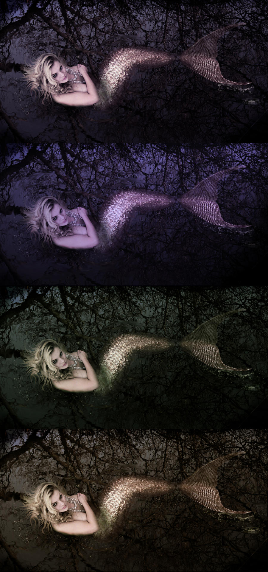 Siren colour Choices by NightPhoenixArt