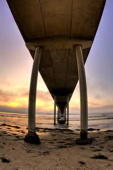 Ocean Beach Pier HDR
