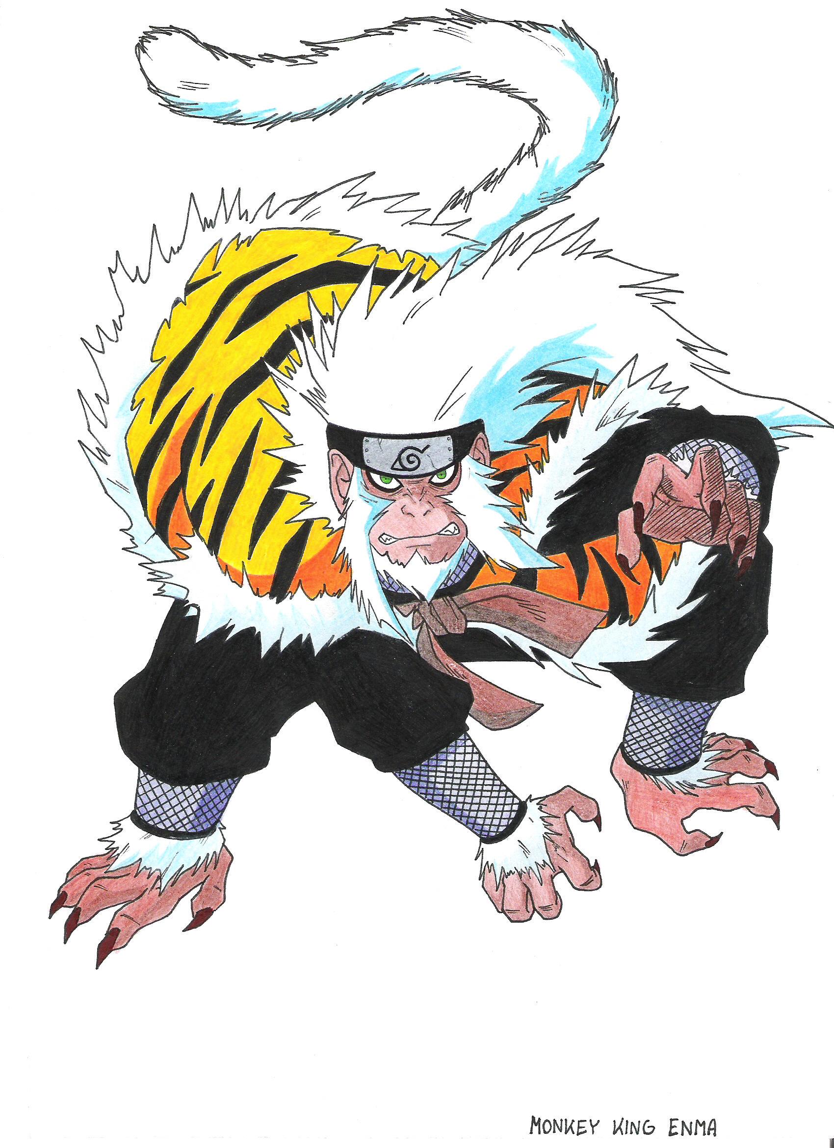 OBD Wiki - Character Profile - Monkey King Enma