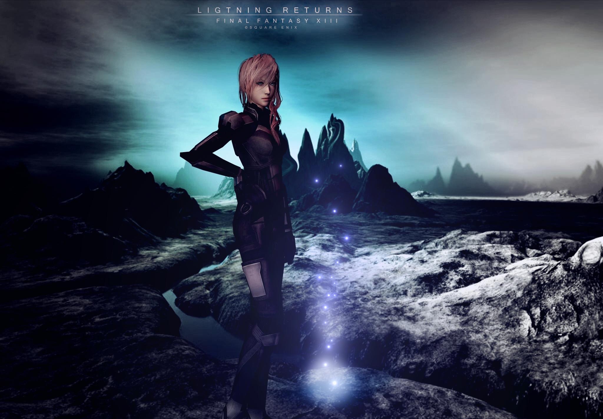 Final Fantasy XIII - Lightning - 1417.9KB