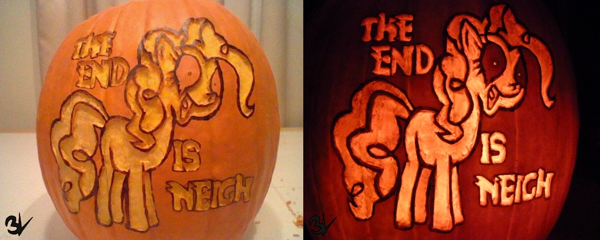 Luna Game Pumkin Carving by EPICVORT3X