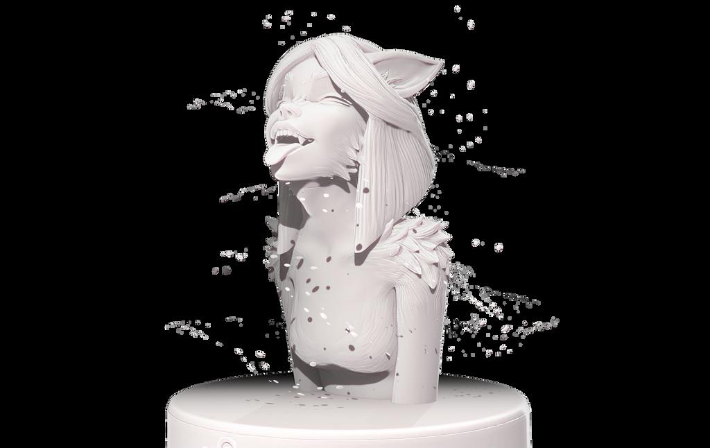 Xmas Wolfgirl by GOKOYOKO
