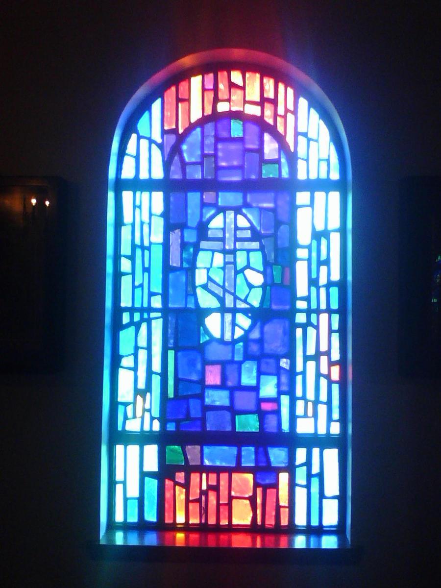 Russian Orthodox Church Window by blackmariah27