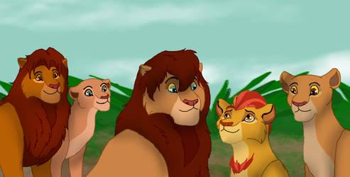 The Royal Family by Shadow-Ku