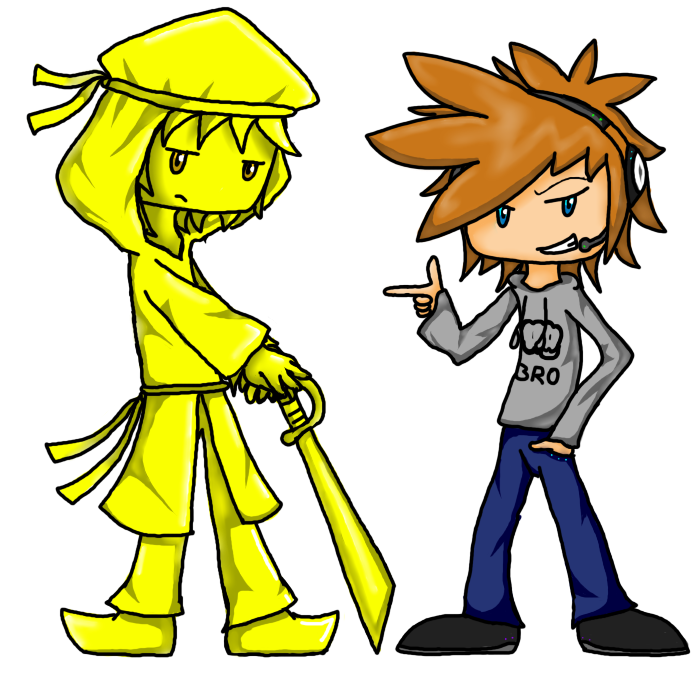Stephano and Pewdiepie by Voxollous on DeviantArt