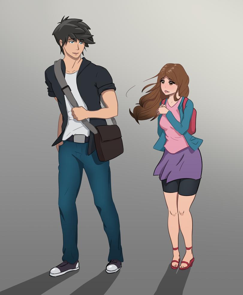 Messi and Karina by otOh-san