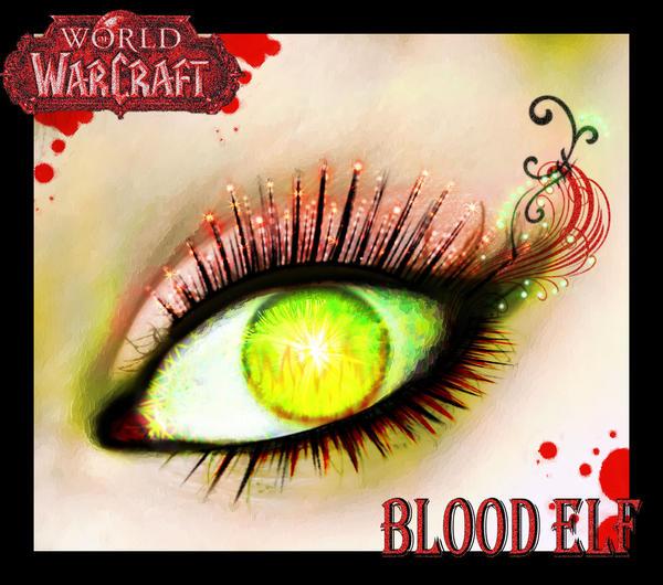 World of Warcraft BELF EYE by iluvjono4eva