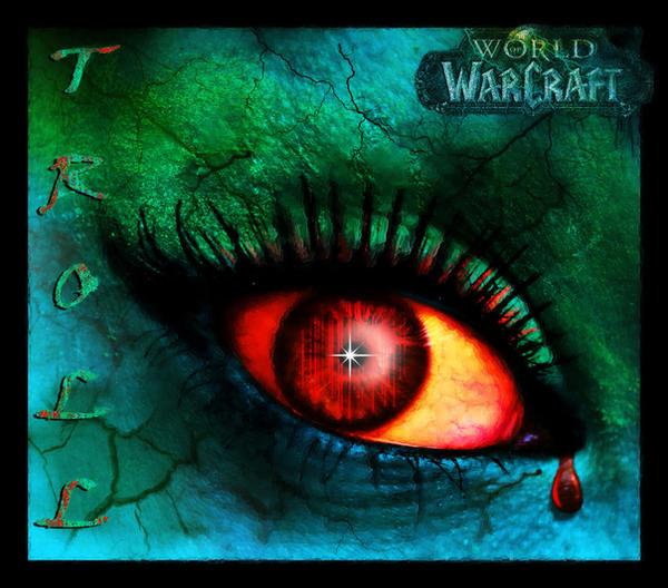 World Of Warcraft Troll Eye by iluvjono4eva