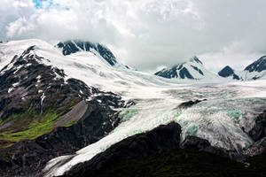Alaska Mountains VI by gerryray