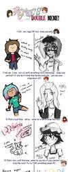 Double Art Meme feat. Mayi by Tarantulaben