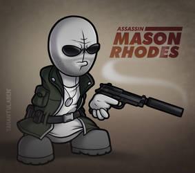 Mason Rhodes by Tarantulaben