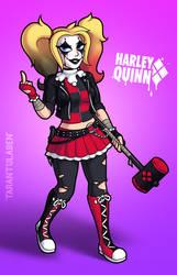 My Harley Quinn by Tarantulaben