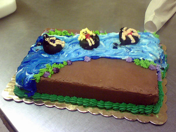 Cake Art Margaret River : River Cake by redhed66 on DeviantArt